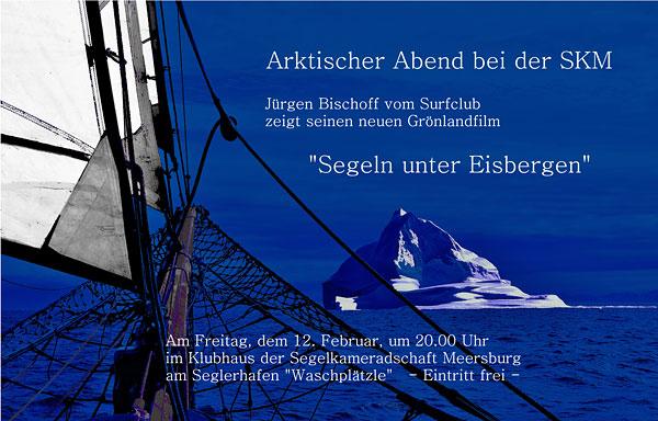 Segeln unter Eisbergen – Jürgen Bischoff