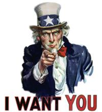 Wir wollen Dich!
